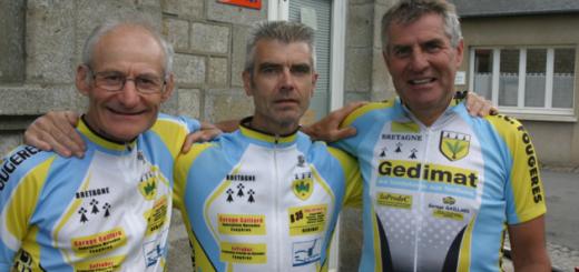Michel Leboissetier, Hervé Degombert et Guy Devilgérard